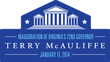 Terry McAuliffe Inauguration Jan 11, 2014